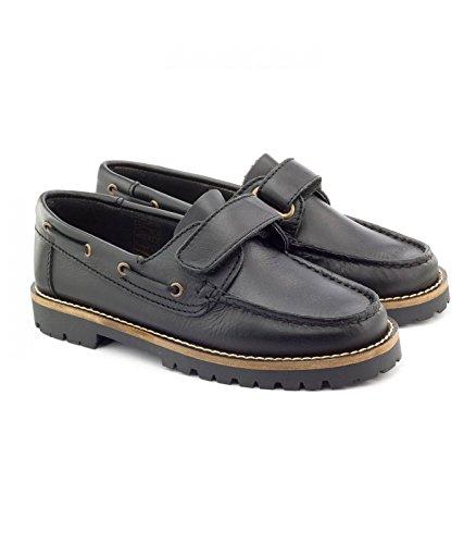 Boni Marco, Chaussures Garçons en Cuir Noir