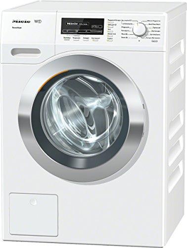 Miele WKF130WPS D LW PWash Waschmaschine FL / A+++ / 156 kWh/Jahr / 9900 Liter/Jahr / 8 kg / 1600 UpM / Thermo-Schontrommel / PowerWash / lotos weiß