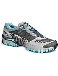 La Sportiva Bushido Woman Ice - Deportivos de running para mujer, color azul / gris, talla 39.5