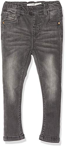 NAME IT Baby-Mädchen NMFPOLLY DNMTORA 5129 Leggings NOOS Jeans, Grau Medium Grey Denim, 86