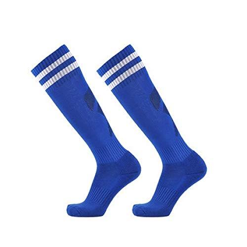 WADUANRUN Fußballstutzen/Kinderfußball Socken Männer und Frauen in der Tube Verdickung Sportsocken blau - Lauren Socken Jungen Ralph Baby