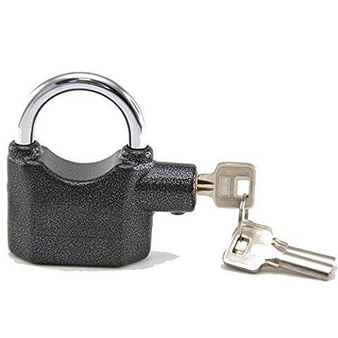 120 dB Security Alarm Padlock – 3 Keys – 80 mm