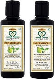 khadi Amla and Bhringraj Shampoo-Pack of 2 (420 ML)
