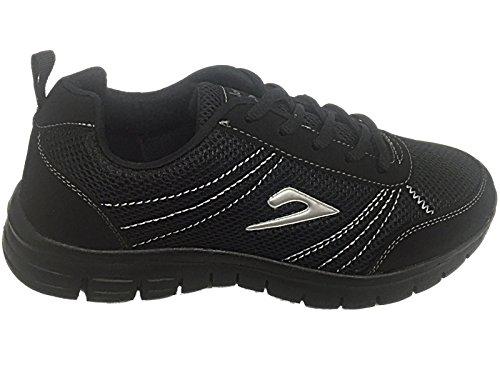 Foster Footwear - Stivaletti da ragazza' donna Black/Silver