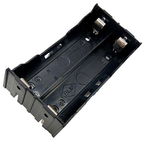 Preisvergleich Produktbild Tonsee DIY Box Halter Aufbewahrungstasche für 2 X 18650 3.7V Akku 4 Pin