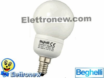 Beghelli beg50423Lampe E14, 11W, mehrfarbig