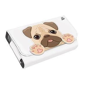 iMP XL Animal Storage & Carry Case – Pug (2DS XL / 3DS XL / DSi XL)