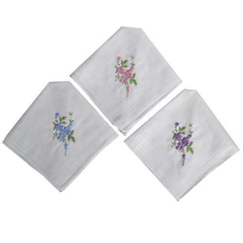 one-stop-e-shop-12-pack-donna-fazzoletti-100-cotone-bianca-con-motivo-floreale-ricamo-fazzoletti
