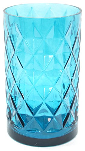 1x Offizielles Yankee Candle Deco Cigar Lounge groß Blau Jar Sleeve Kerzenhalter Dekoration...