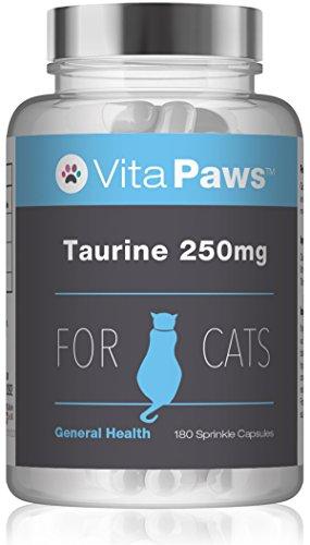 Taurina 250 mg per gatti - 180 capsule - SimplySupplements