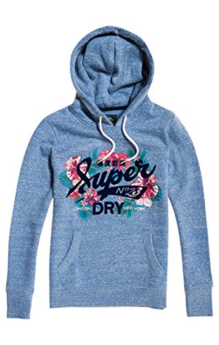 23 Tropical Burst Entry Pullover, Blau (Cali Blue Snow Um0), XX-Small (Herstellergröße: 6) ()
