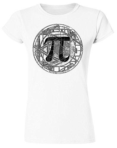 Beautiful Detailed PI Circle Design Women's T-Shirt Large
