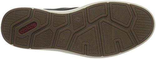 Rieker 12444, Sneakers Hautes Homme Marron (Moro/Kastanie/Wine/Moro/25)