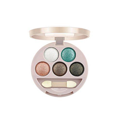 MZP Erde Farbe Perle nackt nude Make-up Farbe Fantasie Garn helle Lidschatten Make-up 5G , 04 (04-garn)