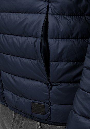Blend Nils Herren Steppjacke Übergangsjacke Jacke Mit Stehkragen, Größe:S, Farbe:Navy (70230) - 5