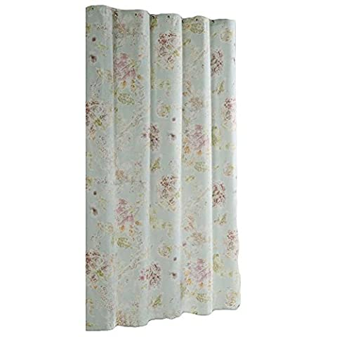 Flora Rideaux de douche Rideau de salle de bain étanche,