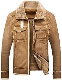 23497a7057c8e Amazon.es  chaqueta aviador - Abrigos   Ropa de abrigo  Ropa