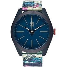 Quiksilver EQYWA00022-XBBB - Reloj , correa de nailon multicolor