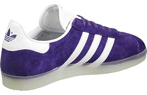 Adidas - Basket Gazelle Bb5501 Violet violet blanc