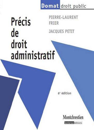 Précis de droit administratif