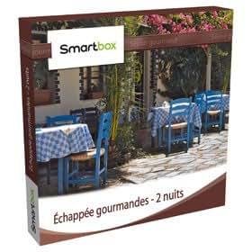 Coffret Cadeau Smartbox - Echappée gourmande (2 nuits)