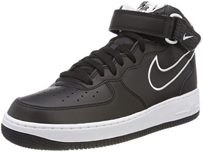 Nike Air Force 1 Mid '07 Lthr, Zapatos de Baloncesto para Hombre