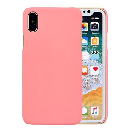 Ouneed® Für Iphone X Hülle , Ultra-thin Luxury Hard PC Back Case Cover für Iphone X (Rosa) Rosa