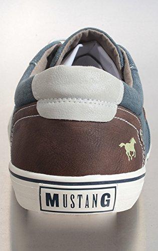 Mustang Herren 4101-301-800 Sneakers 800-dunkelblau