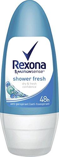 Rexona Deo Roll-On Shower Fresh Anti-Transpirant, 6er Pack (6x 50 ml)