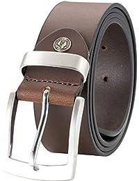 Lindenmann- Hombre cinturón de cuero cinturones hombres mann 9a238fc713af