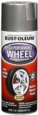 Rust-Oleum 248927 Automotive High Performance Wheel Spray Paint (312 g, Steel)