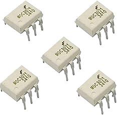 5 PCS MOC-3021 DIP 6 Random - Phase OPTO ISOLATORS TRIAC Driver Output