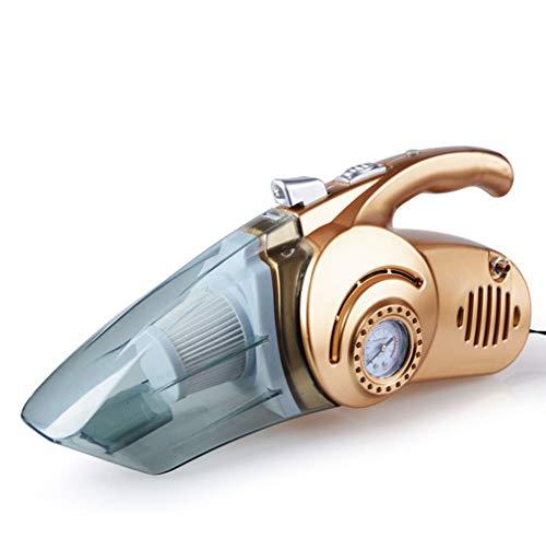 SCJ Auto-Staubsauger 12V, 4 In 1 Nasser Und Trockener Auto-Staubsauger Schnurgebundener Auto-Staubsauger Mit LED-Licht - Zyklon-licht Staubsauger