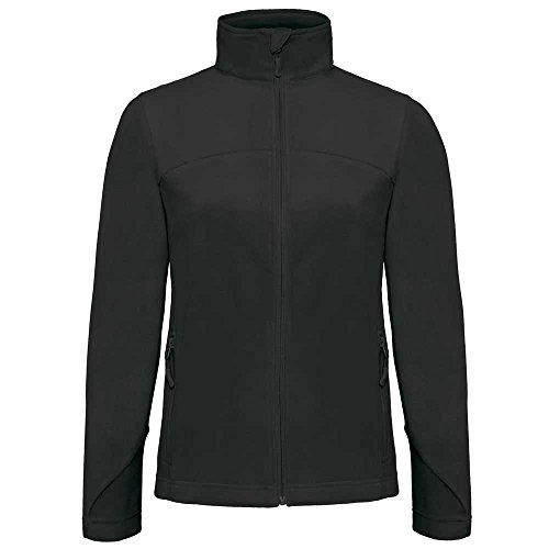 B&C Collection Womens Coolstar Microfleece Jacket Black