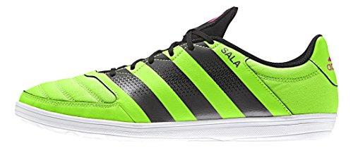 adidas Herren Ace 16.4 Street Fußballschuhe, Eu Grün (Solar Green/Night Met./Shock Pink)