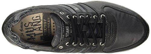 Mustang 1226401, Chaussures de sport femme Noir (922 Schwarz/Dunkel Grau)