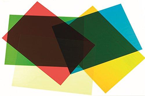 TickiT 48002 Hojas de colores de acetato (5 unidades)