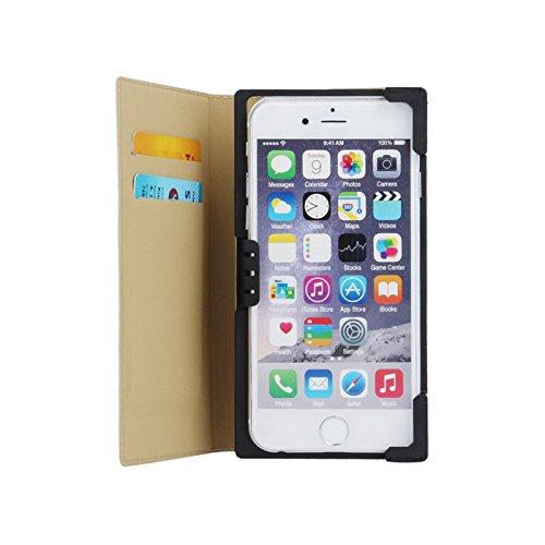 Handytasche Bookstyle für Haier Phone L53 Flip Case Hülle 5,2-5,8 Zoll
