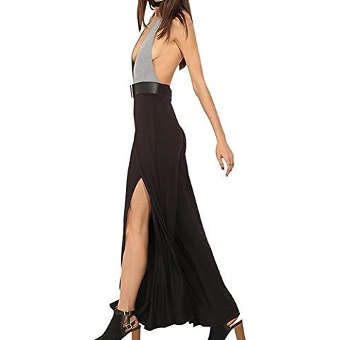 Eliacher Mujer Ocasional Con Cintas Slip Vestido Blanco 8498 (L)