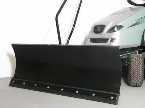 Blisar GG175 Schneeschild, 118x50 cm, für Rasentraktoren