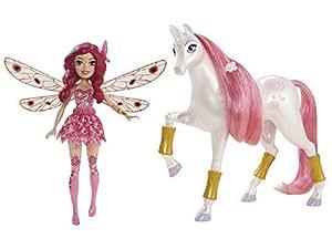 Mattel chj99–MIA and ME Mini Poupée et licorne