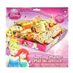 Disney Princess Large Serving Platter by - Servierplatte Servierplatten Prinzessin
