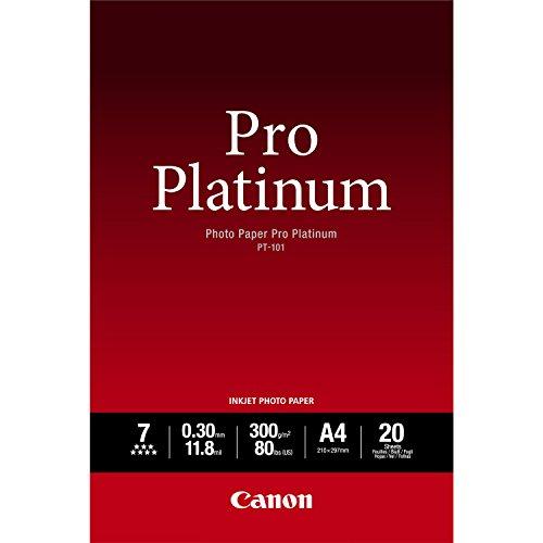 Preisvergleich Produktbild CANON PT-101 Fotopapier Pro Platinum A2 20 Blatt