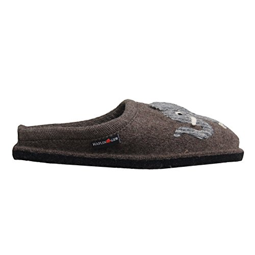 Pantofole HAFLINGER art. 31304463 braunmeliert Marron
