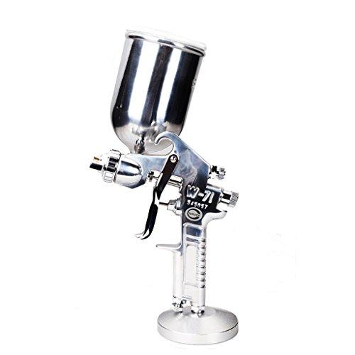 Preisvergleich Produktbild Valianto W71-G Spritzpistole Farbsprühsystem Lackierpistole Gravitation Silber Druckluft 1.8mm