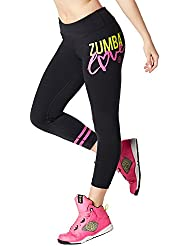 Zumba Fitness Love Perfect Crop Legging Bottoms