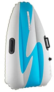 Airboard Softboard Regular Inflatable Snow Sledge - Blue