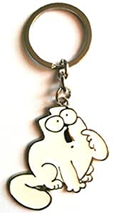 Simon's Cat Porte-clés Hungry Motif chat