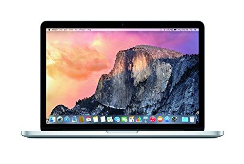 Apple MacBook Pro with Retina Display 13-inch Laptop (Intel i5 2.7 GHz, 8 GB RAM, 256 GB SSD, Intel HD, OS X Yosemite) - Silver - 2015 - MF840B/A - UK Keyboard