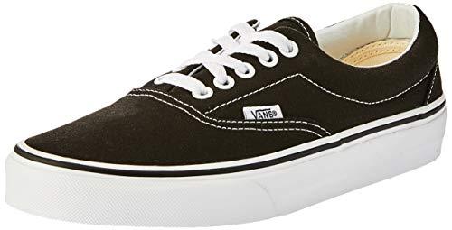 Vans Era Classic Canvas, Sneaker a Collo Basso Unisex - Adulto, Nero, 42 EU (8 UK)